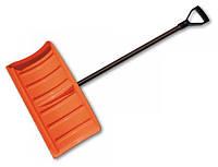 Лопата-плуг для уборки снега с металлическим черенком, фото 1