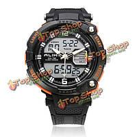 Так ak1391 спорта большая Дата Циферблат черный мужские наручные часы задний свет