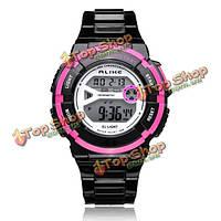 Так ak14103 спорт Дата сигнализация открытых женщин резиновые наручные часы
