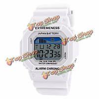 SKMEI 6918 моды цифровой LED экран резиновый мужчин женщин унисекс спортивные часы