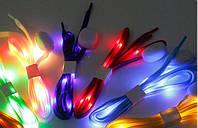Светящиеся шнурки, с Led подсветкой
