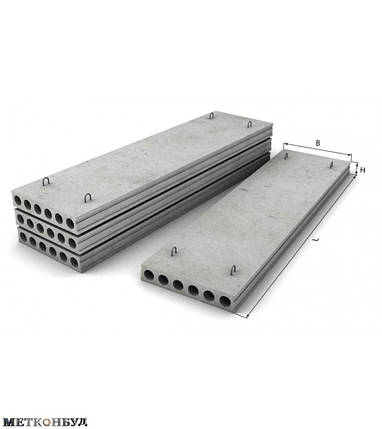 Плиты перекрытия ПК 60-15-8, фото 2
