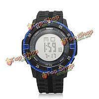 SKMEI 1089 LED цифровые сигнальные водонепроницаемые спортивные наручные часы
