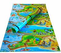 Детский развивающий коврик Мадагаскар 2500*1200*12 мм