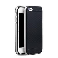 Чехол бампер Ipaky для iPhone 5 / 5S / SE серый