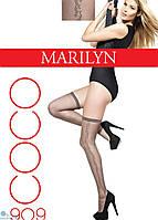 Фантазийные чулки Marilyn COCO 909 с эффектом тюля