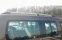 Рейлинги Renault Kangoo 2008- хром Skyline