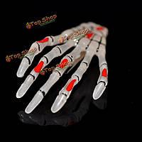 Женщины дамы Хэллоуин Рождество скелет череп когтями руки зажим для волос шпильки заколки контактный