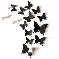 12шт сделай сам стильные 3-и стенные переводные картинки этикетки искусства бабочки домашние художественные оформления свадебной вечеринк