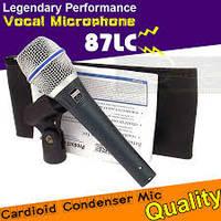 Микрофон проводной Beta 87C (копия), BOX