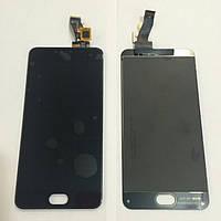 Дисплей для телефона MEIZU M3S с тачскрином черный