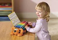 Развивающая музыкальная игрушка - ТИГРЕНОК-КСИЛОФОН: ДВА В ОДНОМ (звук)