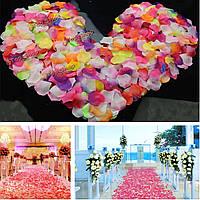 800шт искусственных роз шелка многоцветный лепестки цветов фестиваль поставщиком свадьбы украшение партии