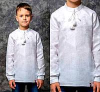 Вышиванка с натуральной ткани для мальчика