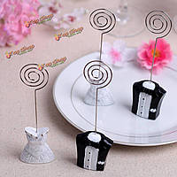 1 пара украшение число имя держателя жених пара свадьба место карточным столом
