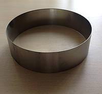 Форма для торта круглая без дна 160*50
