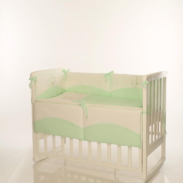 Детское постельное Tutti зеленый