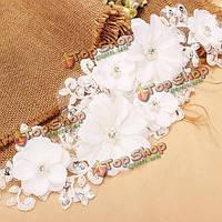 Свадебные украшения свадебный головной убор женщины кружева Перл заставки