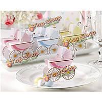 Корейский свадьбы пользу душа ребенка детская коляска коробка конфет
