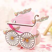 10шт корейский свадьбы пользу душа ребенка детская коляска коробка конфет