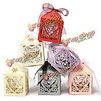 Свадьбы пользу коробки конфет&украшения стола-пронзил сердце дизайн