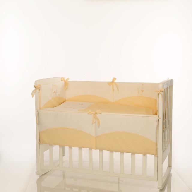Детское постельное Tutti желтый