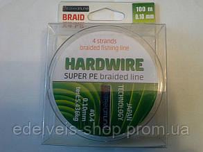 Шнур ( нитка плетёнка) рыболовный HARDWIRE SUPER PE  100 метров 0.10, фото 2