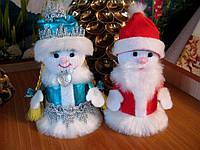 Дед мороз, снегурочка и снеговик, фото 1