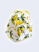 Рюкзак с принтом яркие лимоны