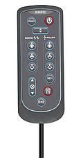 Массажная накидка HoMedics Shiatsu MAX Deluxe с разворотными роликами, прогревом, вибрацией в сиденье и чехлом, фото 2