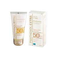Солнцезащитный крем для лица гелевой текстуры Panthenol Extra Diaphanous SPF 50