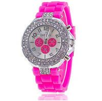 Недорогие часы женские Geneva Женева с двойными кристалами