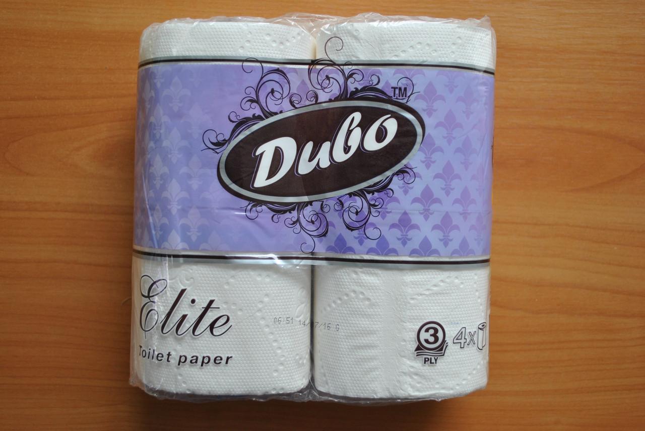 Туалетная бумага Диво Elite 4 шт