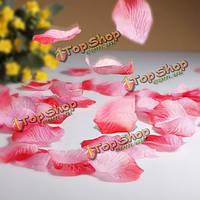 Шелковые цветочные лепестки искусственной розы лепестки свадьбы вечеринки