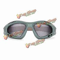 Мужчины гладить чистый нулевой баллистические защитные очки выстрел тактический воздействия сетки очки