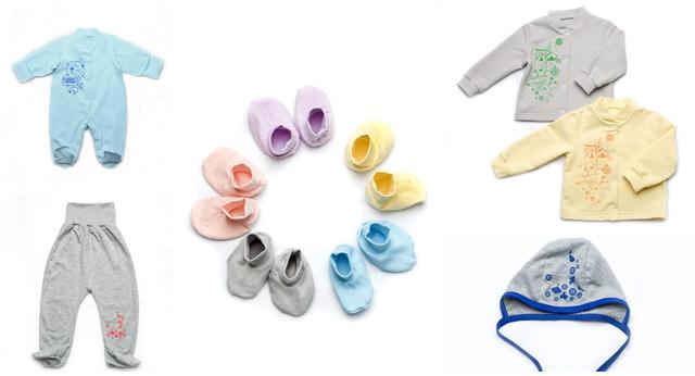 Одежда для новорожденных (текстиль)