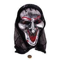 Маска «Довольный Демон» с капюшон