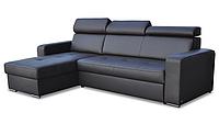 Стильный угловой диван в коже FX15 B1 (269 см)