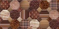 Плитка декор настенная BELANI Fresia antares brown 25 x 50