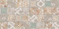 Плитка декор настенная BELANI Ramina grey 25 x 50