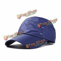 Унисекс нейлон сетка отверстие бейсболки спорта на открытом воздухе быстро сухой дышащий шляпы для мужчин, женщин