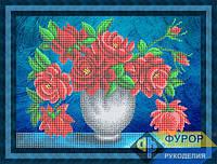 Схема для вышивки бисером - Букет прекрасных роз, Арт. НБч3-082-2