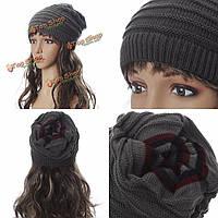 Мужские женские вязание зимних череп лыжная шапочка шапка вязание крючком грелки шеи