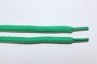 Шнурки круглые 5мм с наполнителем зеленый (трава) , фото 1