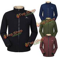 Мода Открытый лыжный износа пальто случайный теплый флис мочевого пузыря куртки