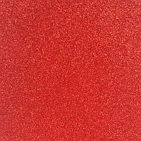 Глиттер 0.6 мм с клеевым слоем, Корея, КРАСНЫЙ, 15х20 см
