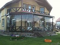 Мягкие окна, прозрачный ПВХ для обшивки беседок, летних террас и других конструкций, м'яке скло