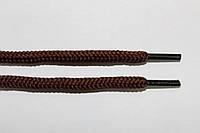 Шнурки круглые 5мм с наполнителем коричневый (шоколад) , фото 1