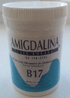 Амигдалин, Витамин В-17, Cyto Pharma, Amygdalin, vitamin B-17, 500 mg, 100tabl