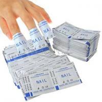 PRO-FEET Пакетики для снятия гель-лака, 10 шт